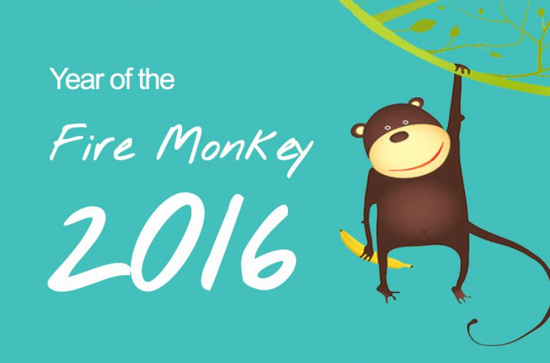 Year of the Fire Monkey Baby born 2016_chinese horoscope_dearbub.com