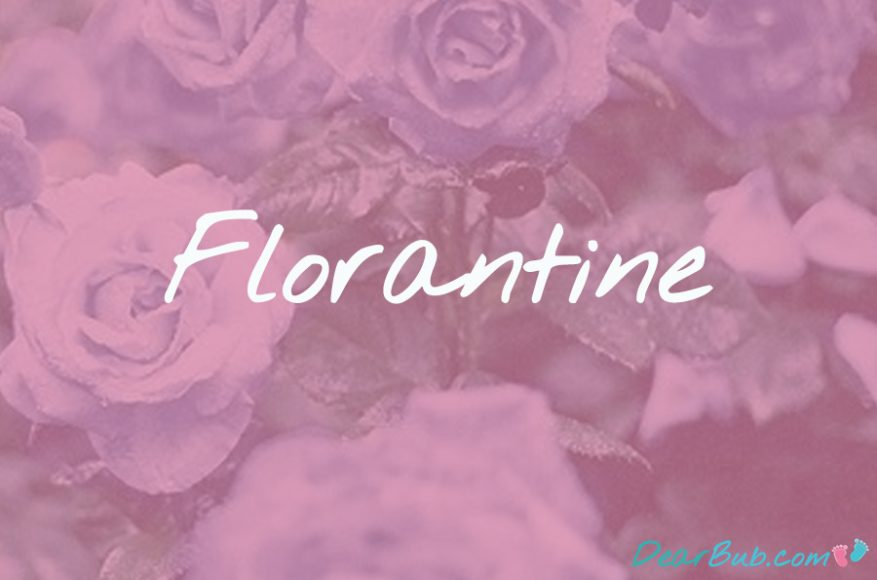 baby names for girls inspired by flowers-babynames-florantine-dearbubblog