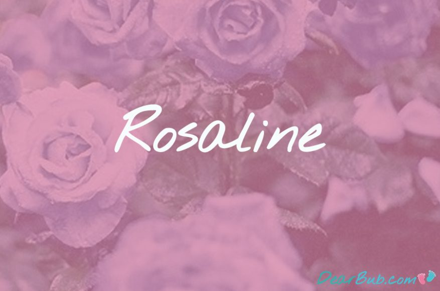 baby names for girls inspired by flowers-babynames-rosaline-dearbubblog