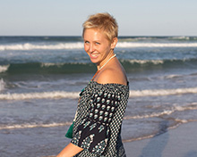 Profile pic Bettina Rae - Yoga teacher