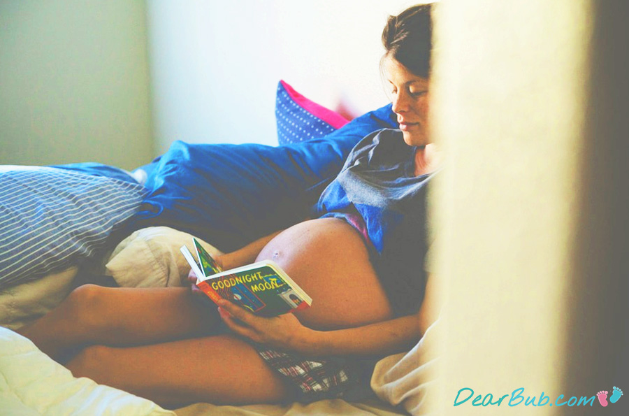 Third Trimester Sex: Maybe I'll just read instead...?